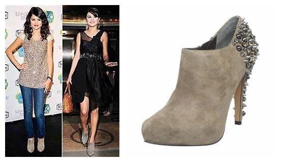 *Beauty*Sam Edelman 灰色鉚釘高跟鞋 好萊塢女星最愛 6M 36 CR