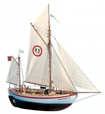 """Brand new, RC compatible model ship 1/18kit by Billing Boats: the """"Colin Archer"""""""