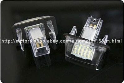 【SD祥登汽車】For CITROEN C3 5D HATCHBACK PICASSO台灣製LED牌照燈 大牌燈 白光(