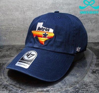 [SREY帽屋]預購*47 Brand CLEAN UP MLB 休士頓太空人 德州地圖LOGO 美國限定 老帽 棒球帽