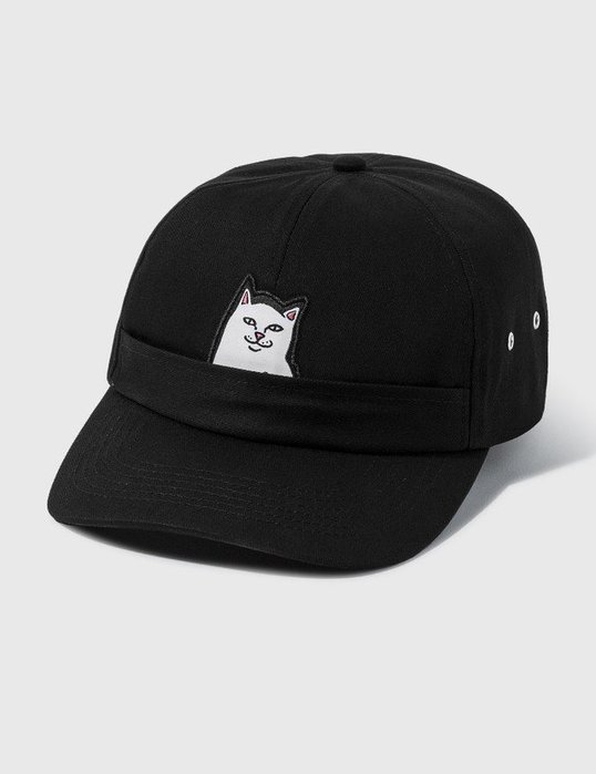 【莎莉伊森】代購 RIPNDIP LORD NERMAL POCKET 6 PANEL HAT 帽 棒球帽