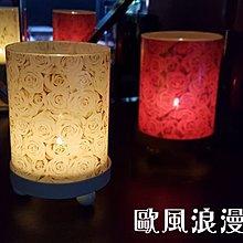【喬尚拍賣】歐風浪漫燭台 玻璃圓管 四種圖樣