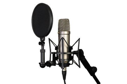 【 搖滾鍵盤】總代理10年保固RODE NT1-A 電容麥克風.人聲、樂器、現場收錄音*澳洲製造