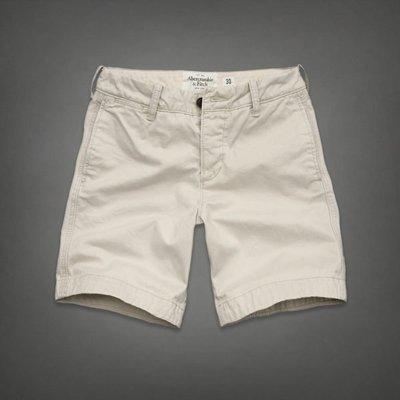 "BJGO Abercrombie & Fitch_A&F_PITCHOFF MOUNTAIN SHORTS 經典麋鹿美式休閒短褲  現貨33"""