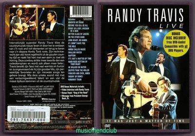 音樂居士#Randy Travis - Live It Was Just A Matter Of Time (/dts) DVD
