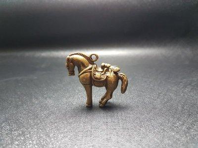 黃銅實心 馬上贏 掛件/小擺件 仿古銅鑄微雕  ※ 銅雕/生肖/蟾蜍/貔貅/龍龜