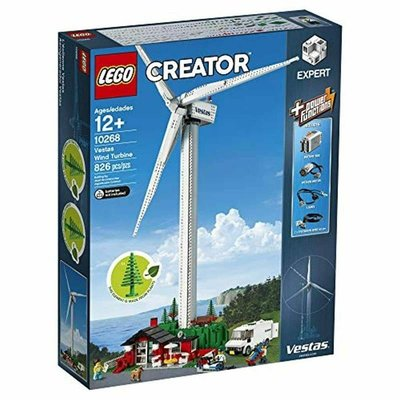 (全新未拆) LEGO 樂高 10268 Vestas Wind Turbine 風力 發電場景組 (請先問與答)