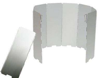 【大山野營】犀牛 RHINO K-9 鋁合金擋風板 擋風片 阻風片 附收納袋 攻頂爐 飛碟爐 省燃料