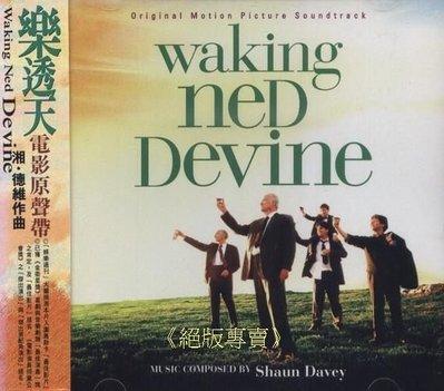 《絕版專賣》樂透天  /  Waking Ned Devine 電影原聲帶 Shaun Davey (側標完整)