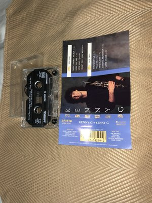 【李歐的音樂】美版ARISTA唱片1982年 KENNY G 首張同名專輯  錄音帶 卡帶