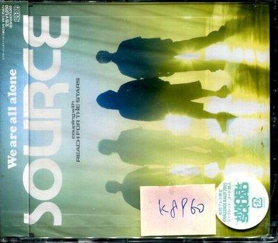 *真音樂* SOURCE / WE ARE ALL ALONE 日版 全新 K8960 (下標賣4)