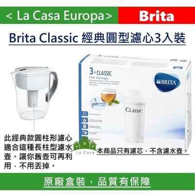 [My Brita] 3入Classic經典圓形濾心 濾芯。2019.02月製造。適用舊款濾水壺。原廠盒裝請安心購買。