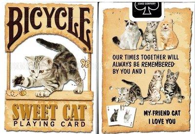 [808 MAGIC]魔術道具 BICYCLE SWEET CAT PLAYING CARD