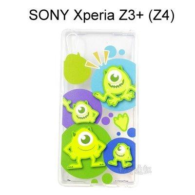 迪士尼透明軟殼 [人物] 大眼仔 SONY Xperia Z3+ /  Z3 Plus (Z4)【Disney正版授權】 新北市