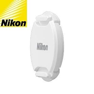 白色Nikon原廠鏡頭蓋40.5mm鏡頭蓋LC-N40.5鏡頭蓋適10-30mm f3.5-5.6 30-110mm 11-27.5mm P7800 P7700