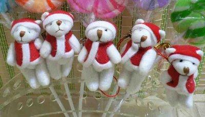聖誕熊~派對熊~~聖誕節禮物包裝~耶誕節分享禮派對小物結婚禮小物二次進場喜糖送客禮贈品婚宴囍糖來店禮開幕禮迎賓禮