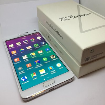 Samsung galaxy note 4 32gb. 有中文