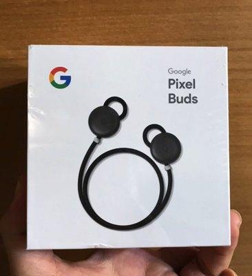 美版全新未拆 Google Pixel Buds 藍芽真無線耳機 即時語音翻譯 降噪 支援Google助理 黑色版