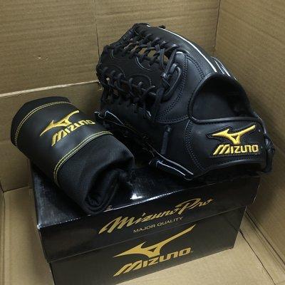 原價47250日幣【激安棒壘】日本進口MIZUNO PRO硬式棒球手套2GW-18717左投,外野,全新,含原廠箱手套袋