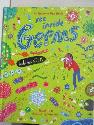 【書寶二手書T1/動植物_EU2】See Inside Germs_Sarah Hull,Peter Allen