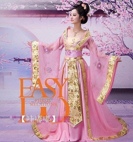 【易發生活館】新品藝術照演出服個人影樓服裝寫真服裝唐朝貴妃服裝古裝華麗cos女