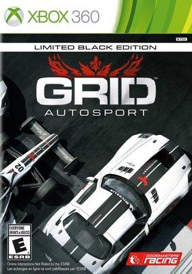 全新未拆 XBOX 360 Grid 極速房車賽:競速賽事限定純黑版 -限定純黑版- GRID AutoSport