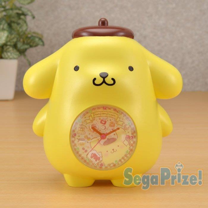 41+ 現貨不必等 Y拍最低價 日本進口 SEGA 正版授權 布丁狗 造型桌鐘 鬧鐘 小日尼三