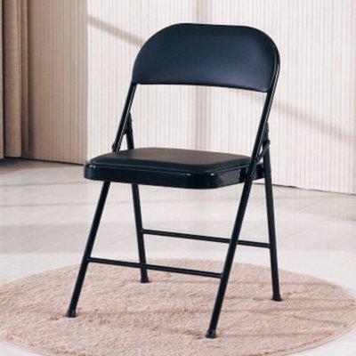 【南洋風休閒傢俱】時尚餐椅系列-U購折合橋牌椅 有背餐椅  皮面餐椅 簡約時尚 設計餐椅 (CY367-15)