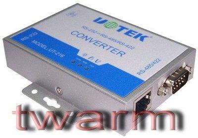 《德源科技》r)UT-216 商規外掛式RS232 轉RS485/RS422轉換器(I3-UT-216) (原廠總代理)