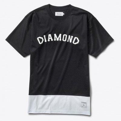 [WESTYLE] Diamond Supply Co Arch Mesh Tee 黑 網布 球衣材質
