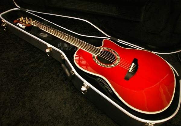 《民風樂府》美廠 Ovation Custom Legend C779LX 經典單板圓背吉他 音色醇美 豪華亮麗