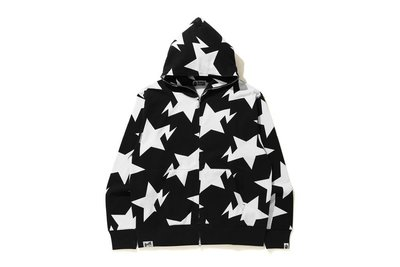 BAPE 2020AW RELAXED FIT STA PATTERN FULL ZIP HOODIE 流星 訂單