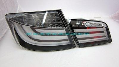 BMW F10  10 11 12 13 帝寶 DEPO製  白光柱 透明燈殼 LED尾燈/後車燈 4件式/組  最便宜