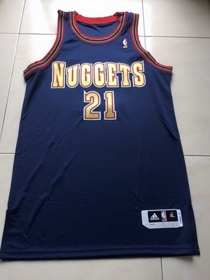 Adidas Denver Nuggets Wilson Chandler Game Issued Jersey XL