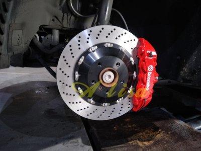 邦德堡國際 VW GOLF Tiguan Touran 專用 前大六活塞 雙片式浮動碟 可另購後加大碟盤 GTI