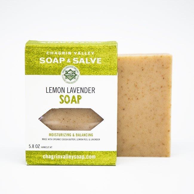 美國Chagrin Valley 有機檸檬薰衣草高嶺土植物皂 Lemon Lavender 手工皂 5.8 OZ