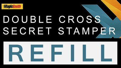 [魔術魂道具Shop]Double Cross補充系列~補充印章Secret Stamper Part (Refill)