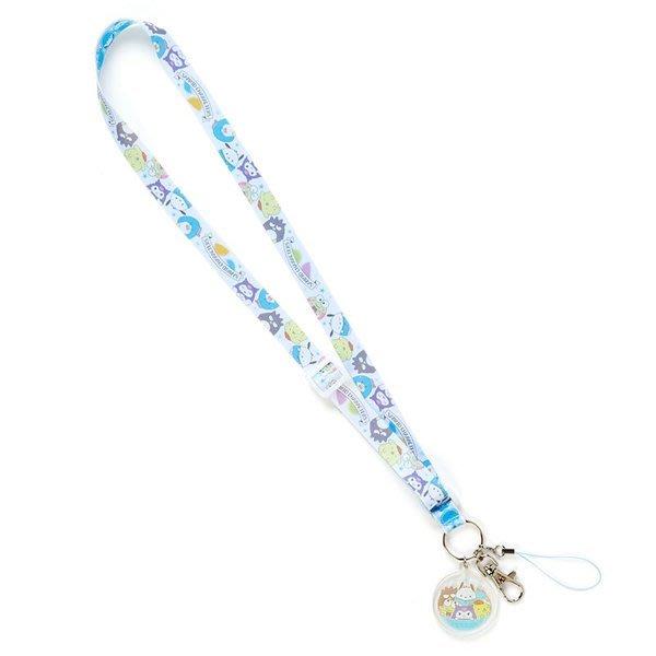代購現貨 日本三麗鷗家族人物 名牌頸帶 手機頸帶