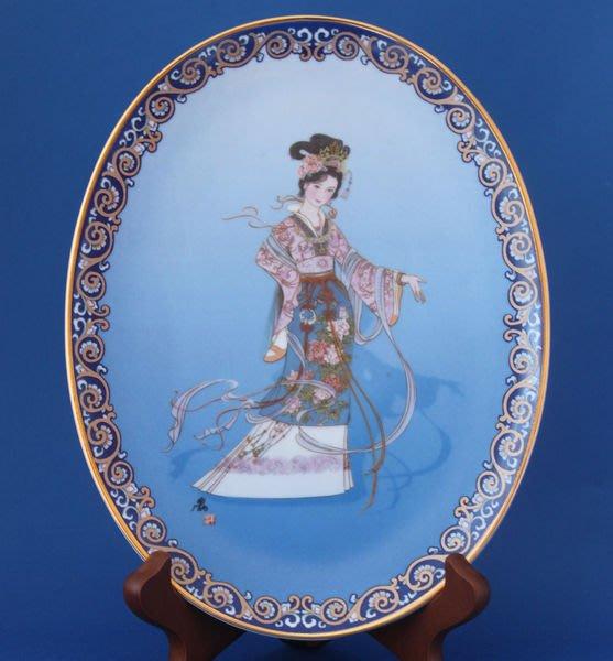 [美]Bradford Exchange 1995年限量裝飾盤-紅樓夢人物-熙鳳-Hsi Feng