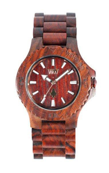 【美國鞋校】特價現貨   義大利 We Wood WEWOOD DATE 木頭錶 棕 木頭指針錶