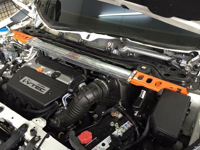 【安喬汽車精品】本田 HONDA CRV 4代 改裝 SUMMIT 鋁合金前上拉桿 引擎式拉桿 全車拉桿套件