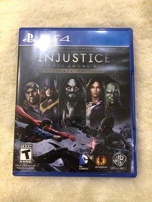 (二手) PS4 《超級英雄:武力對決》 Injustice: Gods Among Us Ultimate Editi