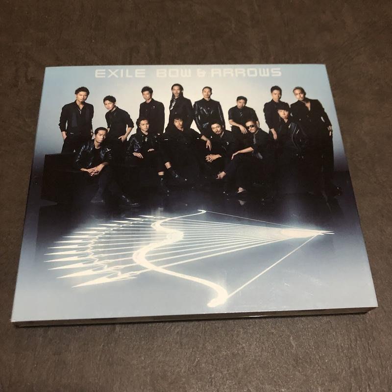 二手 CD & DVD EXILE 放浪兄弟 BOW & ARROWS 一觸即發 日版 單曲 D箱