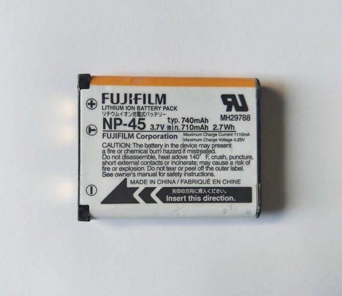原裝富士NP-45相機電池Z91JX405 Z808 JX305 JX255 J38 JV155