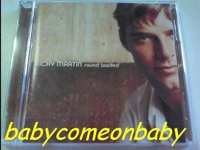 舊CD 英文專輯 Ricky Martin 瑞奇馬汀 sound loaded 先聲奪人(保存良好99%無刮傷近全新)