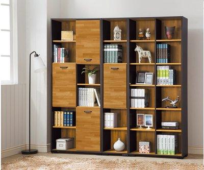 【南洋風休閒傢俱】書架 書櫃 書櫥 展示櫃 收納櫃 造形櫃 置物櫃系列-萊雅集層木2.7尺開放式書櫃 CY406-713