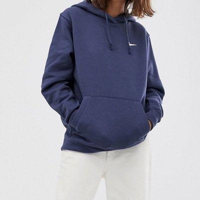 Nike 新色hoodie 藍色