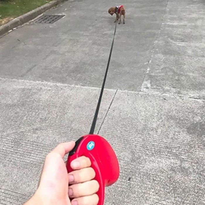 宠物牵引绳自动伸缩链子项圈狗用品 尚美優品