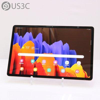 【US3C-小南門店】三星 Samsung Tab S7+ 5G 12.4吋 6G/128G SM-T976B 平板電腦 含觸控筆及原廠鍵盤皮套 原廠保固內