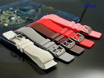 【時間探索】 全新卡地亞 Cartier Santos 100  山度士 代用矽膠錶帶 20mm